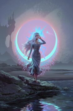 The Lady Amalthea by EranFowler