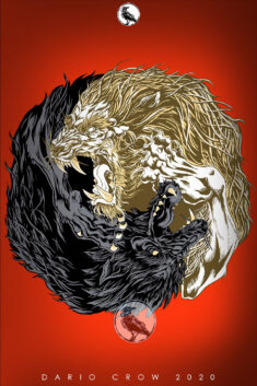 Yin and Yang, Wolf and Lion