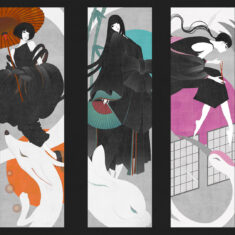 Reinterpretation of Japanese Folklore Heroines by Kate