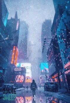 Ash rain ~ SuicideSheep by Ellysiumn