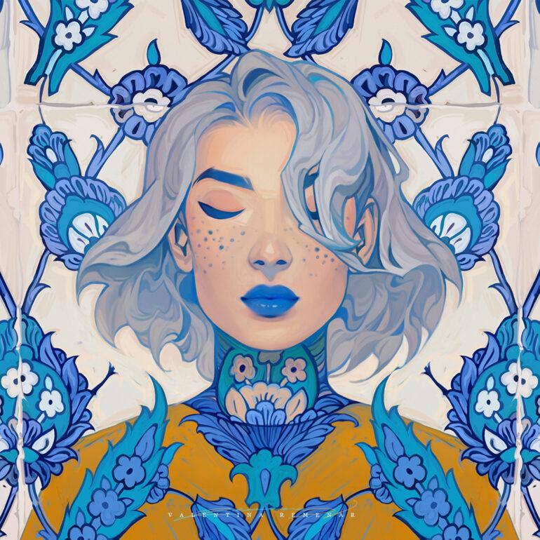 Blue by Valentina-Remenar
