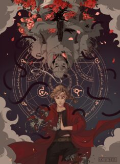 Fullmetal alchemist Brotherhood by Monanu