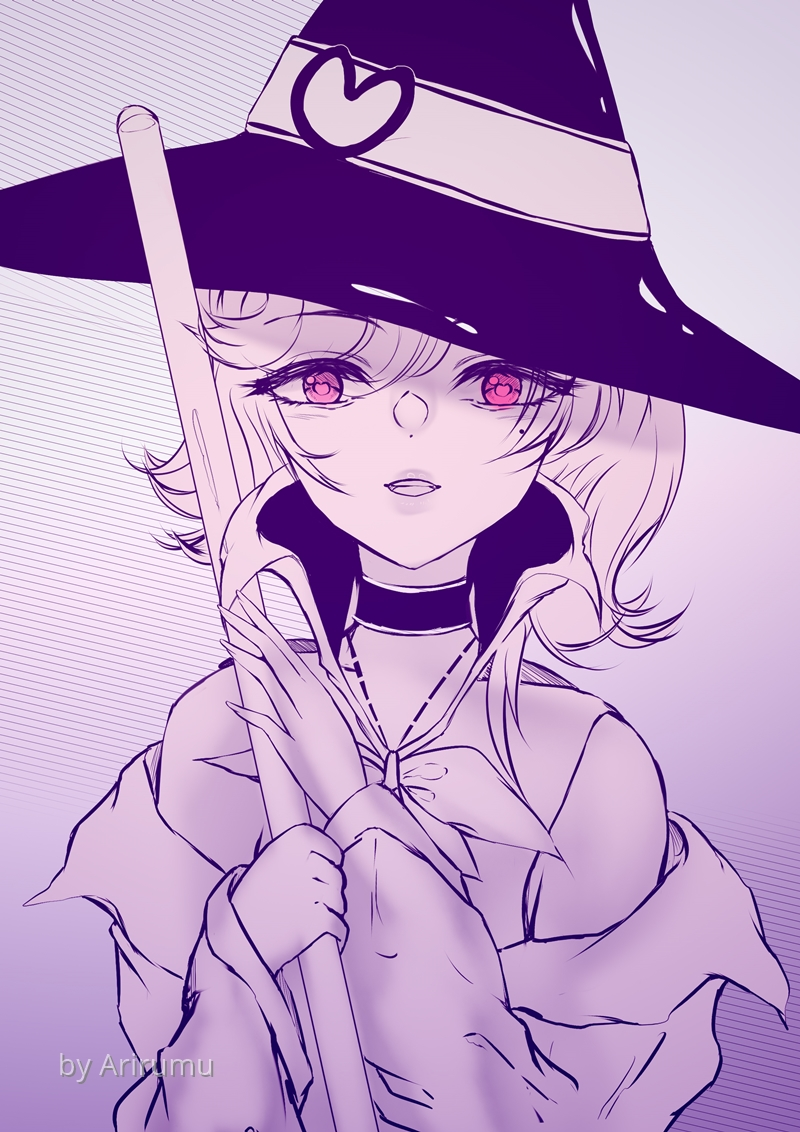 [INK20]Day30 – Witch by Arirumu