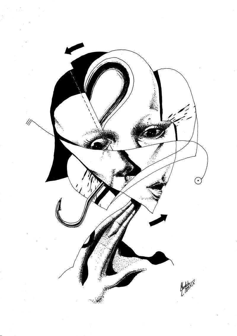 Portrait LI by M-B-Mordala