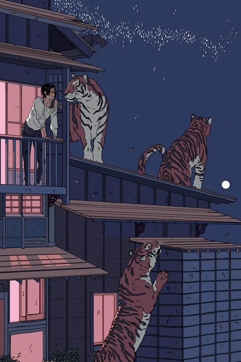 Tiger Household by CassandraJean