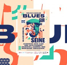 Blues Sur Seine – Poster and identity