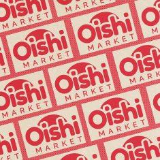 Oishi Market Illustration