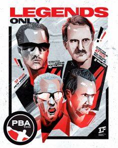 """Legends Only"", Work for International Bowling Federation on behalf of Curveball Digital"