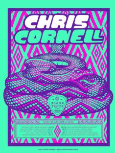 Chris Cornell Gig Posters – Vol. 1