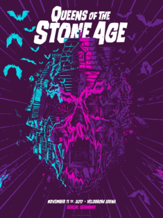 Queen of the Stone age Gig Posters – Vol. 1