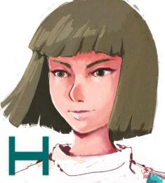 H for Haku! by Drawmonsterdraw