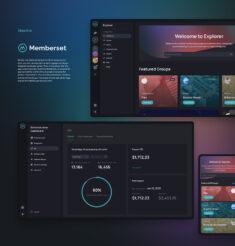 UX/UI Design for Memberset App